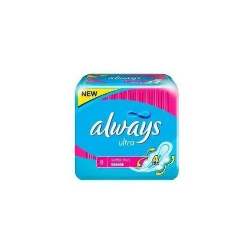 Always ultra super plus podpaski x 8 szt. marki Procter& gamble