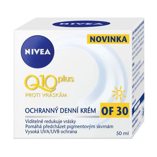 Nivea q10 plus day cream spf30 50ml w krem do twarzy