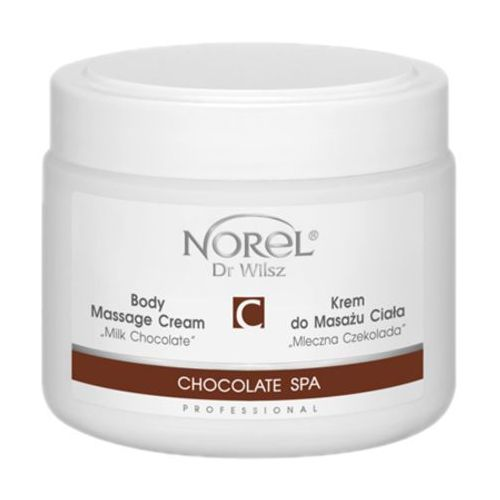 chocolate spa body massage cream milk chocolate krem do masażu ciała mleczna czekolada (pb187) marki Norel (dr wilsz)