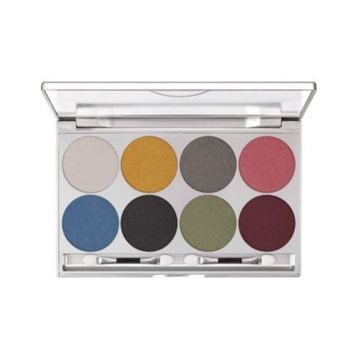 eye shadow palette 8 colors (iridescent) paleta 8 kolorów cieni do powiek - iridescent (5308) marki Kryolan