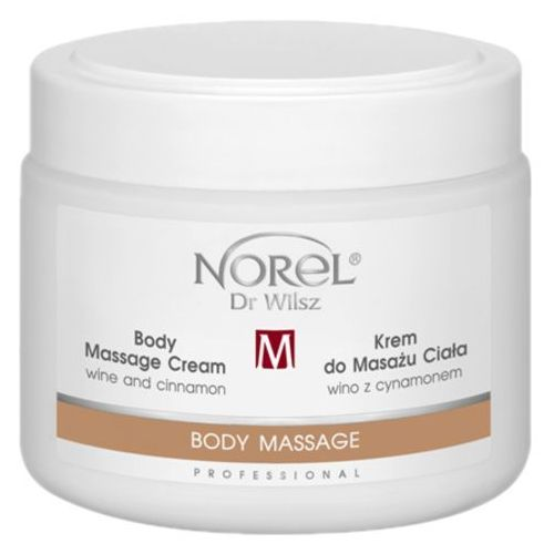 body massage cream wine and cinnamon krem do masażu ciała wino z cynamonem (pb327) marki Norel (dr wilsz)