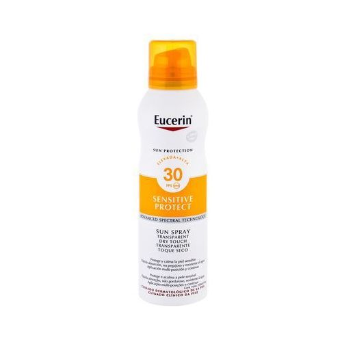 Eucerin Sun Sensitive Protect Sun Spray Dry Touch SPF30 preparat do opalania ciała 200 ml unisex (4005800126550)