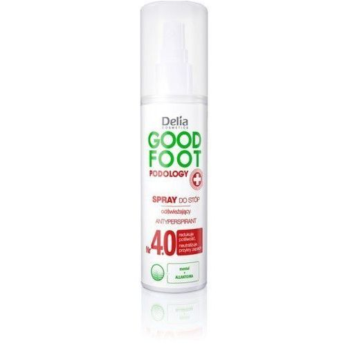 Delia Cosmetics Good Foot Podology Nr 4.0 Spray do stóp odświeżający 100ml (5906750834894)