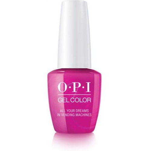 OPI GelColor ALL YOUR DREAMS IN VENDING MACHINES Żel kolorowy (GCT84)