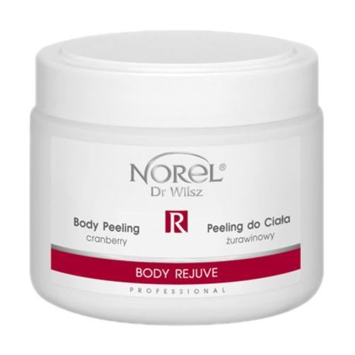 Norel (Dr Wilsz) BODY REJUVE BODY PEELING CRANBERRY Żurawinowy peeling do ciała (PP177) - 500 ml
