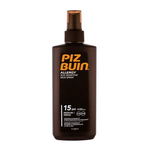 PIZ BUIN Allergy Sun Sensitive Skin Spray SPF15 preparat do opalania ciała 200 ml dla kobiet, 93352