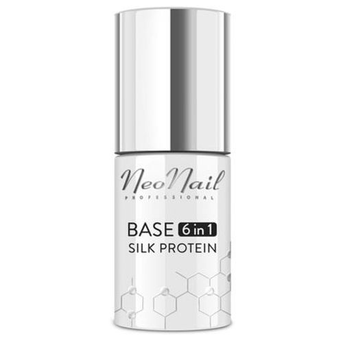 base 6in1 silk protein baza proteinowa 6 w 1 do lakieru hybrydowego (7,2 ml) marki Neonail