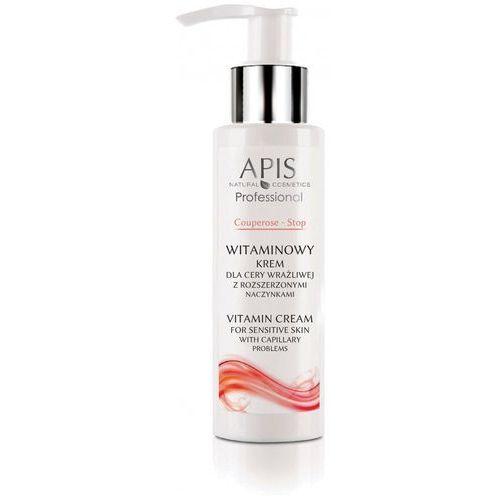 Apis krem witaminowy na naczynka couperose-stop 100 ml marki Apis natural cosmetics