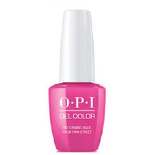 OPI GelColor NO TURNING BACK FROM PINK STREET Żel kolorowy (GC-L19)