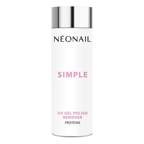 Neonail Aceton do lakierów simple 200 ml simple uv gel polish remover proteins