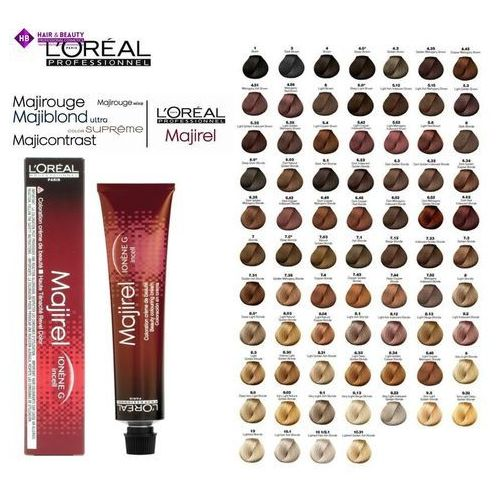L'oréal professionnel majirel farba do włosów odcień 4,0 (beauty colouring cream) 50 ml