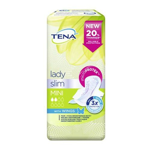TENA Lady Slim Mini Plus Wings x 16 sztuk