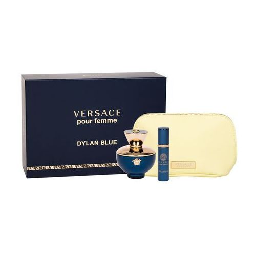 VERSACE Pour Femme Dylan Blue EDP 100ml + Perfumetka EDP 10ml + COSMETIC BAG