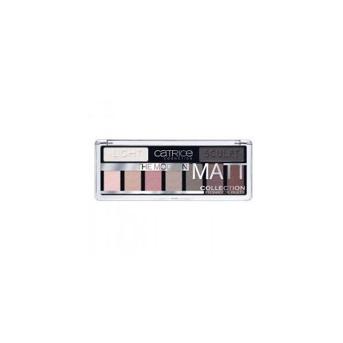 the modern matt collection eyeshadow palette, paleta cieni do powiek marki Catrice