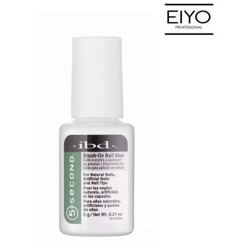 Brush-On Nail Glue Ibd Klej do tipsów z pędzelkiem – 6 g