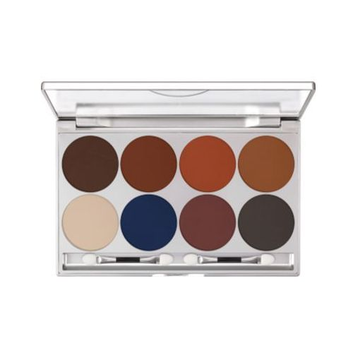 Kryolan EYE SHADOW PALETTE 8 COLORS (SHADING) Paleta 8 kolorów cieni do powiek - SHADING (5308)