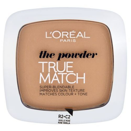L'oreal true match powder puder prasowany r2-c2 rose vanilla 9g (3600520932903)