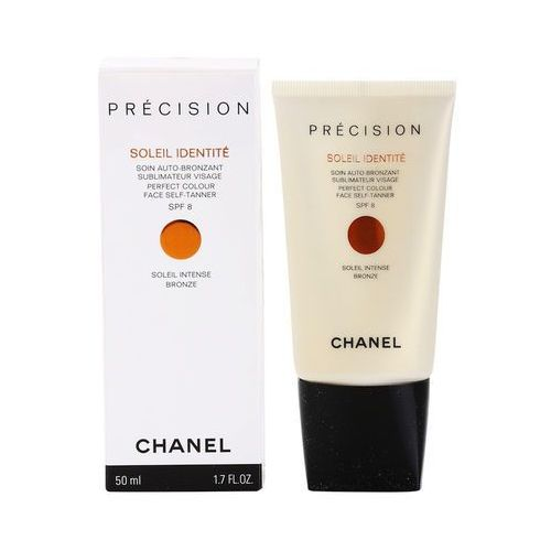 Chanel Précision Soleil Identité samoopalający krem do twarzy SPF 8 odcień Bronze (Perfect Colour Face Self-Tanner) 50 ml (3145891398205)