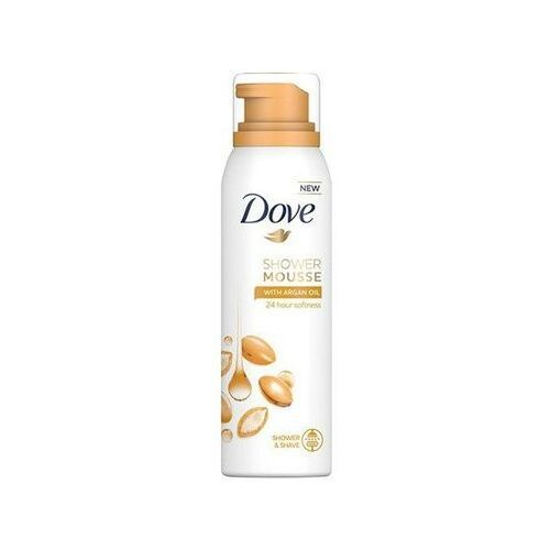 shower mousse argan oil, 200 ml. pianka do mycia ciała marki Dove