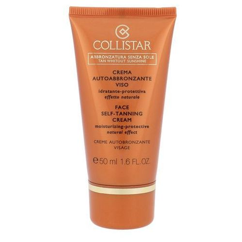 Collistar Tan Without Sunshine Face Self-Tanning Cream samoopalacz 50 ml dla kobiet, COL-OPA03