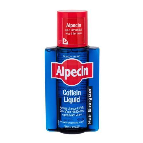 Alpecin Hair Energizer Caffeine Liquid tonik kofeinowy przeciw wypadaniu włosów dla mężczyzn (Strengthens The Hair Roots; Prevents Hair Loss) 200 ml