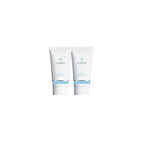 advanced body line lafayette, mini zestaw do skór atopowych body cream 30ml+shower gel, 30ml marki Clarena
