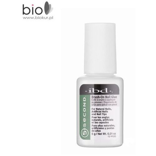 Brush-on nail glue ibd klej do tipsów z pędzelkiem – 6 g marki Ibd beauty