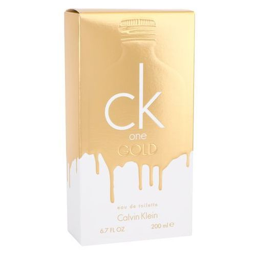 ck one gold 200 ml woda toaletowa marki Calvin klein