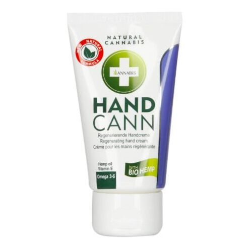 KREM Z KONOPI DO RĄK HANDCANN Q10 75 ML (8594167142434)