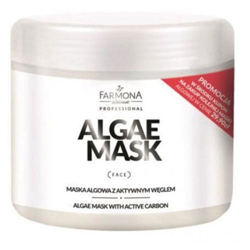 Farmona algae mask with active carbon maska algowa z aktywnym węglem