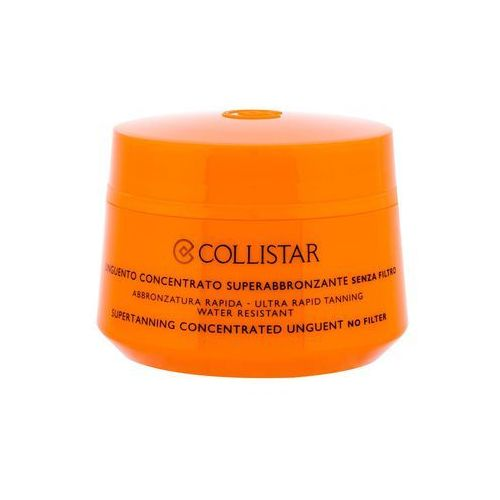 Collistar Sun No Protection skoncentrowany krem do opalania skoncentrowana maść do opalania baz filtra ochronnego (Supertanning Concentrated Unguent), 41077