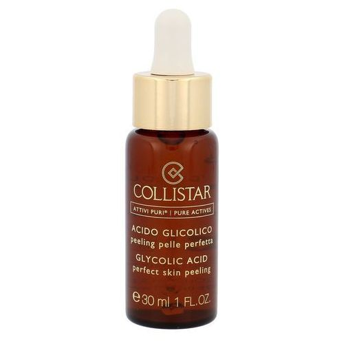 Collistar pure actives glycolic acid rich cream serum do twarzy 30 ml tester dla kobiet