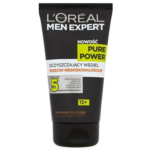 L'oreal men expert pure power żel do mycia twarzy 150ml marki Loreal