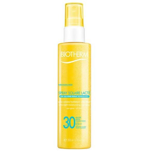 Biotherm spray solaire lacté spray nawilżający do opalania spf 30 (sun sea wind repair technology) 200 ml (3614270201707)