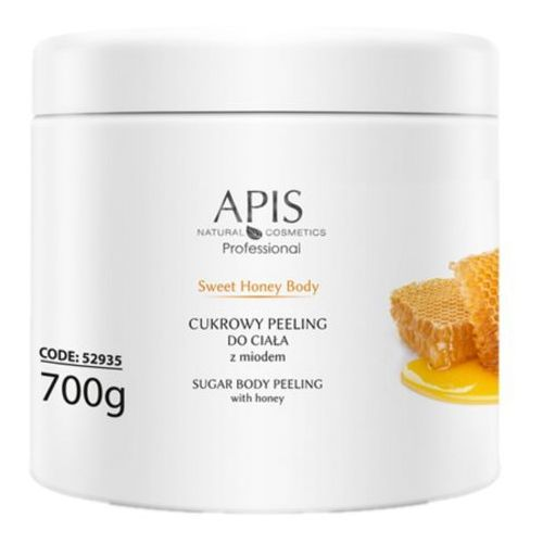 sweet honey body cukrowy peeling do ciała z miodem (52935) marki Apis