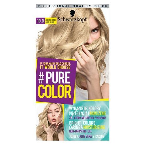 Schwarzkopf Pure Color Farba do włosów w żelu nr 10.0 Angel Blond 1op., 9000101211405