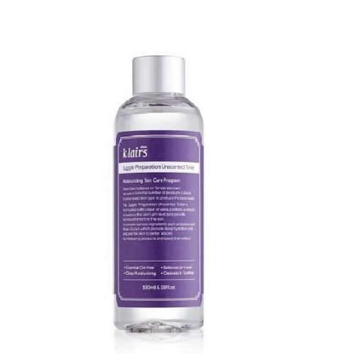 nawilżający tonik do twarzy, supple preparation unscented toner 180ml marki Klairs