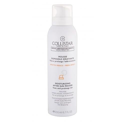 Collistar special perfect tan after sun mousse preparaty po opalaniu 200 ml dla kobiet
