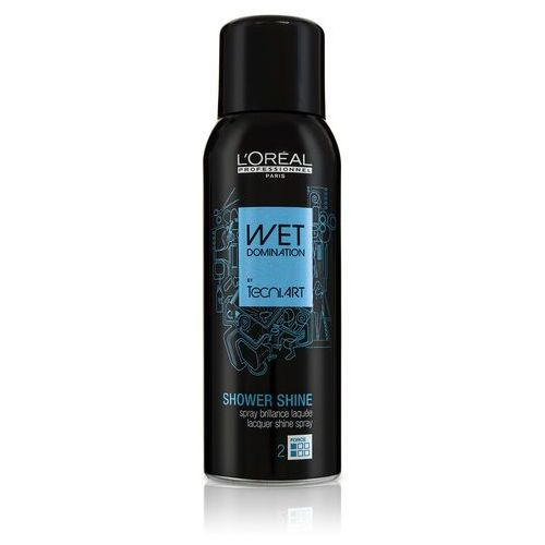 L´oréal professionnel wet domination shower shine lakier do włosów 160 ml dla kobiet