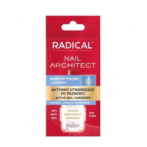 radical nail architect aktywny utwardzacz do paznokci 12ml marki Farmona