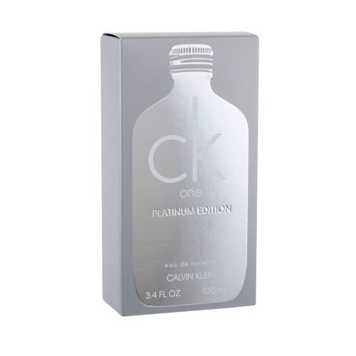 Calvin klein ck one platinum edition woda toaletowa 100 ml unisex
