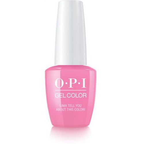Opi gelcolor lima tell you about this color! żel kolorowy (gcp30)