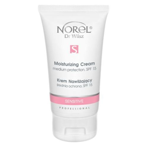 Norel (Dr Wilsz) SENSITIVE MOISTURIZING CREAM MEDIUM PROTECTION SPF15 Krem nawilżający (PK019)