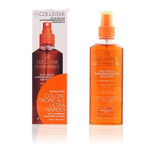 Collistar sun no protection olejek do opalania baz filtra ochronnego (supertanning dry oil) 200 ml (8015150260183)